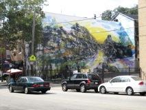Fairmount, a mural completed with David Guinn.