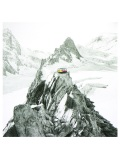 Ridgeline, a charcoal and acrylic piece in the Love at the Matterhorn collection