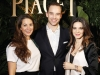 Constance Dicker, Joel Dicker and Piaget CEO Chabi Nouri