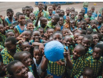 A single sports ball from One World Futbol gives  children in Ghana an unlimited supply of hope.