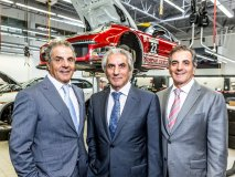 The founders and dealer principals of the Policaro Automotive Family, Basil, Tony and Paul Policaro