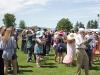 Guests enjoy a sunny afternoon at Polo for Heart at the Toronto Polo Club in Richmond Hill