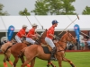 Polo players gallop at the 2015 Polo for Heart weekend
