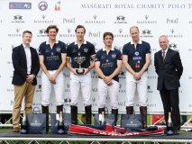James Cowan, Luke Tomlinson, Charley Law, George Meyrick, HHR The Duke of Cambridge and Peter Denton