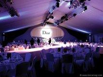 A Dior dinner gala in Dubai