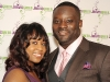 Jarvis Green and his loving wife, Rakia Green, enjoy a night on the town.
