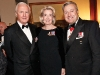 galen weston with the hon hilary weston and retired hon lt col justin fogarty