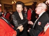 hrh the princess anne with grand master gareth green