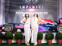 Models at  Ritz-Carlton Montreal's Grand Prix party