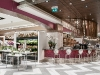 The Saks Food Hall by Pusateri's was designed to look as tasty as the cuisine it serves