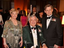 Her Honour Ruth Ann Onley, His Honour Lt.-Gov. David C. Onley and Stephen Lautens, former lawyer and columnist