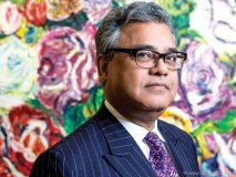 Kothari is surrounded by art and culture both at work and in his charitable endeavours