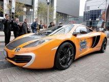 Team Pfaff's McLaren  MP4-12Cs
