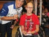 Jonathan Togo, Actor, with SickKids child ambassador