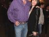 Warren Irwin, Founder of Rosseau Asset Management Ltd. and Jaime Murray, actress
