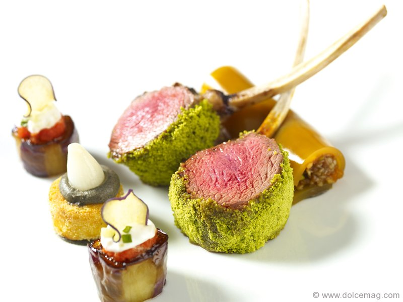 Lumiere Pistachio Crusted Opal Valley Rack Of Lamb