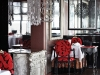 Exquisite décor entices guests at Varvari restaurant in Moscow.
