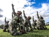 United States Army yoga program, Oahu, Hawaii (Warriors at Ease) | Photo by Robert Sturman