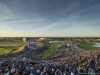 The morning fourball matches get underway at the 2018 Ryder Cup at Le Golf National, Paris   Photo by Rolex/Chris Turvey