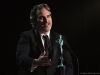Joaquin Phoenix accepts the Outstanding Performance by a Male Actor in a Leading Role award for 'Joker' onstage during the 26th Annual Screen Actors Guild Awards at The Shrine Auditorium | Photo by Kevin Mazur