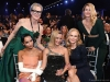Meryl Streep (standing), Zoë Kravitz, Reese Witherspoon, Nicole Kidman, and Laura Dern (standing) attend the 26th Annual Screen Actors Guild Awards at The Shrine Auditorium | Photo by Kevin Mazur