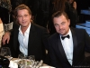 Brad Pitt and Leonardo DiCaprio attend the 26th Annual Screen Actors Guild Awards at The Shrine Auditorium | Photo by Kevin Mazur