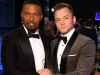 Jamie Foxx and Taron Egerton attend the 26th Annual Screen Actors Guild Awards at The Shrine Auditorium | Photo by Dimitrios Kambouris