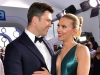 Colin Jost and Scarlett Johansson attend the 26th Annual Screen Actors Guild Awards at The Shrine Auditorium | Photo by Emma McIntyre