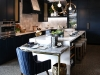 """Richardson designed a custom kitchen, her """"Night's Sky kitchen"""", at the Monogram Design Centre to inspire customers on how they can create their dream kitchen with Monogram"""