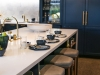 "Richardson designed a custom kitchen, her ""Night's Sky kitchen"", at the Monogram Design Centre to inspire customers on how they can create their dream kitchen with Monogram"