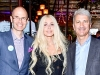 Kevin Goldthorp, President and Chief Development Officer at SickKids Foundation; Sylvia Mantella; Dr. Michael Apkon, CEO, The Hospital for Sick Children