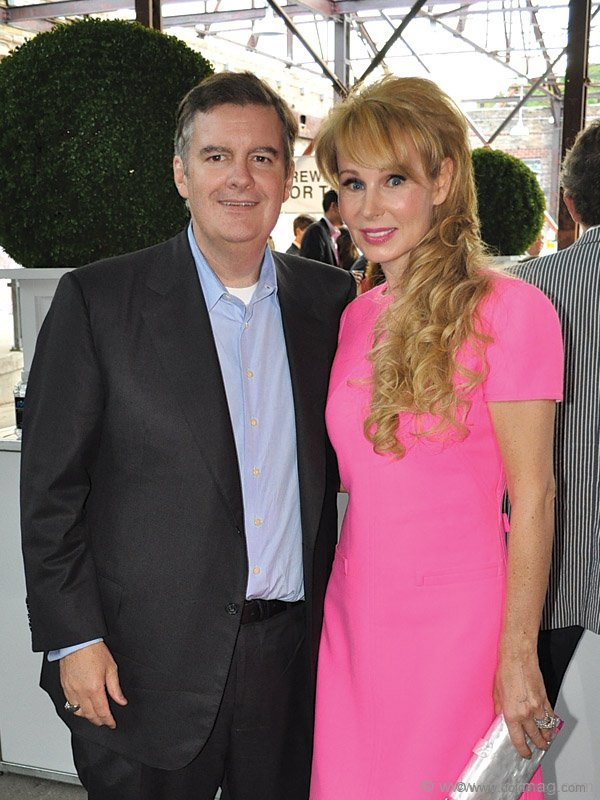 Deputy chairman of Rogers Communications, Edward Rogers, and Suzanne Rogers