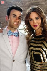 Nicolas Brancaccio with event host and Citytv entertainment anchor Mary Kitchen