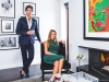 Entertaining filters into every facet of the Centners' lives, with Sebastien's business, Eatertainment, and in their personal lives, hosting at their home as a couple | Photo by Geoff Fitzgerald