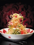 Singaporean style slaw. (Photography by Paula Wilson)