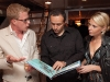 Alexander Staartjes of Six Senses Resorts and Spas, film and TV music composer Eric Babak, and Malin Ryden.