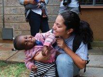 Ashley Walker's work brings smiles to hundreds of children.