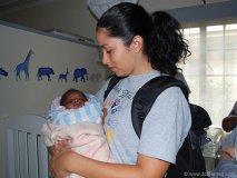 Motherly instincts help nurture those in need.