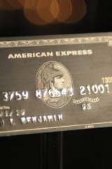 The 'black card' is available by invitation only, requires a $5,000 initiation fee and $2,500 annual fee.
