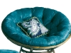 Hop on, lie back and sink into this soft, round chair from Pier 1 Imports. Whether you're watching TV or curling up with a good book, this stylish seat will keep you relaxed.