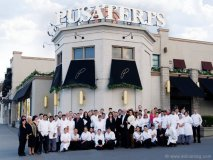 Pusateri's staff in front of its flagship store at Avenue Road and Lawrence Avenue.