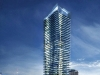 A monument to the spirit of the city's bustling core, One Bloor reaches for the heavens, towering over Toronto with  wonder and affluence.
