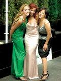 Renée Brosseau, Natalie Hamilton and Shirley Wu.