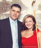 Sergio Sosa and Michelle Zerillo-Sosa, editor-in-chief of Dolce Vita Magazine, a sponsor of the Third Annual Lawyers Polo Cup.