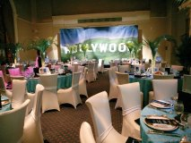 Guests sat in the lap of Hollywood luxury