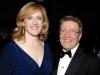 Minister of Natural Resources Lisa Raitt and Robert Deluce (president of Porter Airlines)