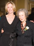 Chief Librarian Jane Pyper and award-winning author and honorary patron Margaret Atwood