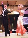Among the thrilling entertainment, dancers Katya Trubina and Kamil Studenny