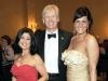 Honorary Chair Lina DiMarco with Mayor David Miller and Melissa Djebbari