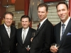 David Feldman, president of Camrost-Felcorp; Andrew Barnicke; Rob Hannah, MGI Securities; Mike Berry